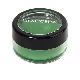 Graftobian Dish Of Face Paint 1/4oz - Irish Green (99013) | Camera Ready Cosmetics - 7