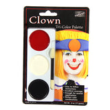 Mehron Tri-Color Palette - Clown (403C-C) | Camera Ready Cosmetics - 7