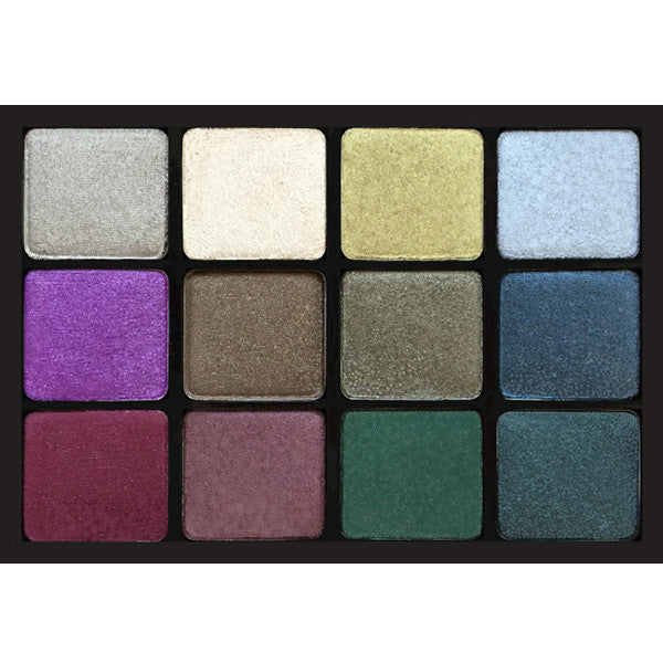 ALT - Viseart - 12 Color Eyeshadow Palette - 09 BIJOUX ROYAL - Camera Ready Cosmetics