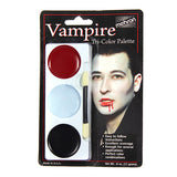 Mehron Tri-Color Palette - Vampire (403C-V) | Camera Ready Cosmetics - 12