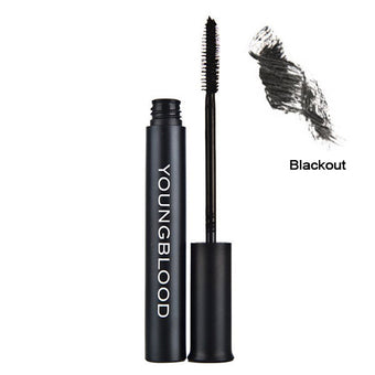 Youngblood Outrageous Lashes Mineral Lengthening Mascara - Blackout | Camera Ready Cosmetics - 2