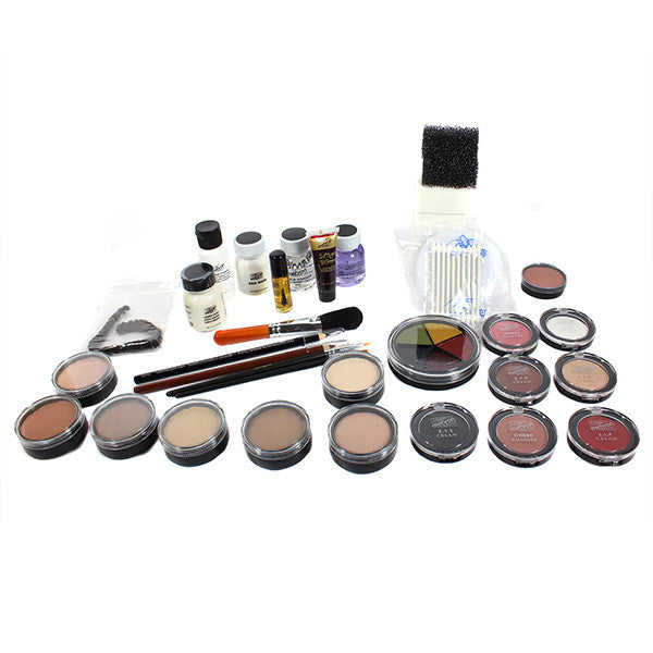 Mehron Celebre Makeup Kit (USA Only) - Dark Complexion (CPK-D) | Camera Ready Cosmetics - 3