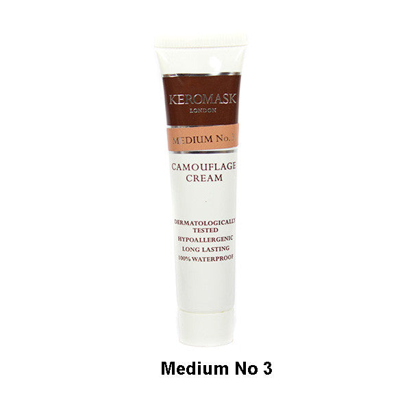 Keromask Camouflage Cream - Cream Medium N0. 3 | Camera Ready Cosmetics - 21
