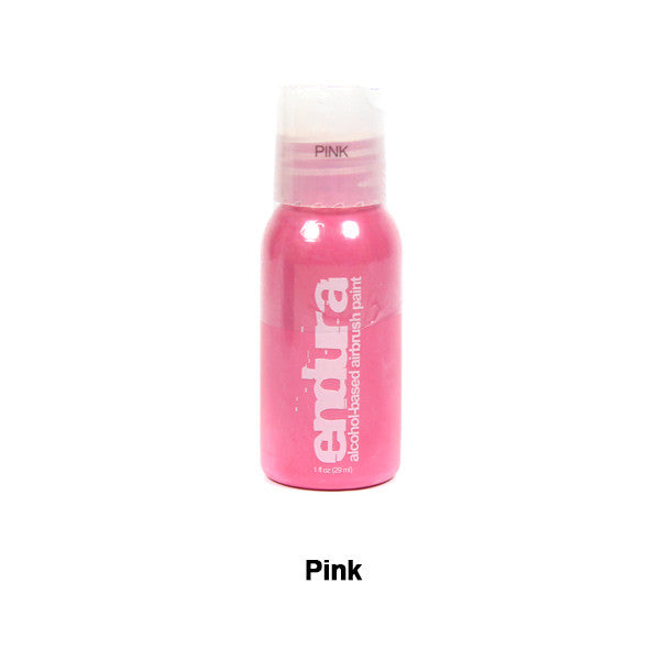 European Body Art Endura Airbrush Liquids - Pink | Camera Ready Cosmetics - 11
