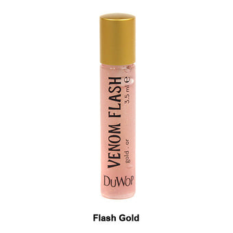 DuWop Lip Venom - Flash Gold | Camera Ready Cosmetics - 4