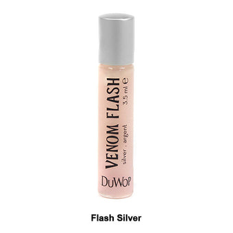 DuWop Lip Venom - Flash Silver | Camera Ready Cosmetics - 5