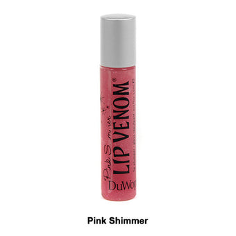 DuWop Lip Venom - Pink Shimmer | Camera Ready Cosmetics - 8