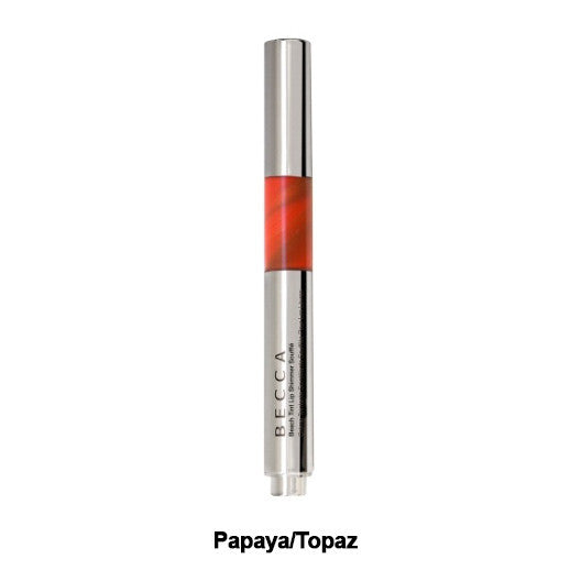 Becca Beach Tint Lip Shimmer Souffle (LIMITED AVAILABILITY) - Papaya/Topaz | Camera Ready Cosmetics - 5