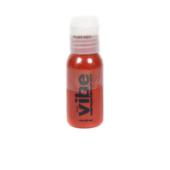 European Body Art Vibe Airbrush Liquids - Rust Red | Camera Ready Cosmetics - 18