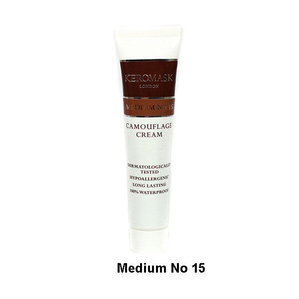 Keromask Camouflage Cream - Cream Medium N0. 15 | Camera Ready Cosmetics - 27