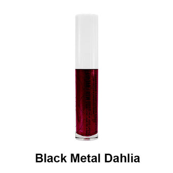 OCC Lip Tar/RTW Liquid Lipstick - Black Metal Dahlia | Camera Ready Cosmetics - 8