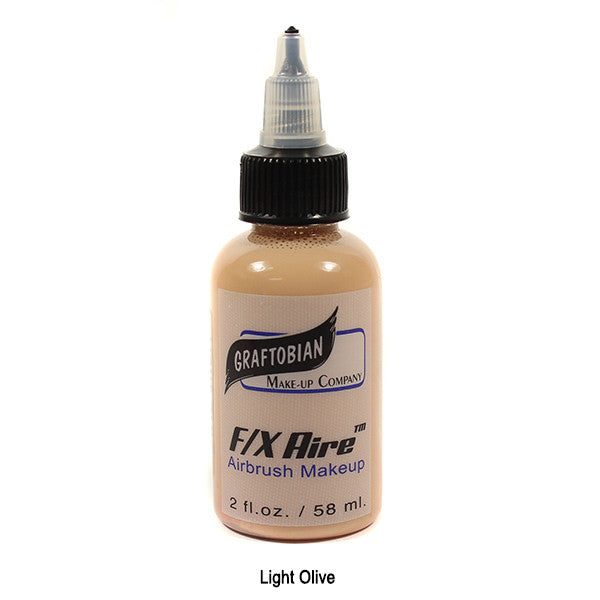 Graftobian F/X Aire Airbrush Makeup - Light Olive (28115) | Camera Ready Cosmetics - 23