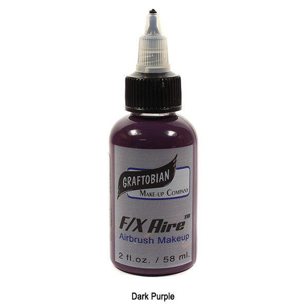 Graftobian F/X Aire Airbrush Makeup - Dark Purple (28042) | Camera Ready Cosmetics - 14