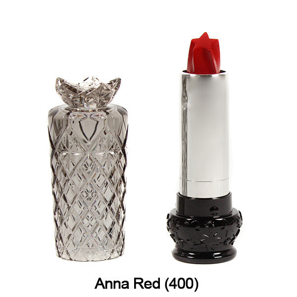 Anna Sui Lipstick  (LIMITED AVAILABILITY) - Anna Red (400) | Camera Ready Cosmetics - 6