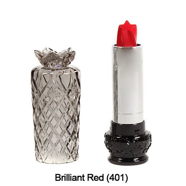 Anna Sui Lipstick  (LIMITED AVAILABILITY) - Brilliant Red (401) | Camera Ready Cosmetics - 7