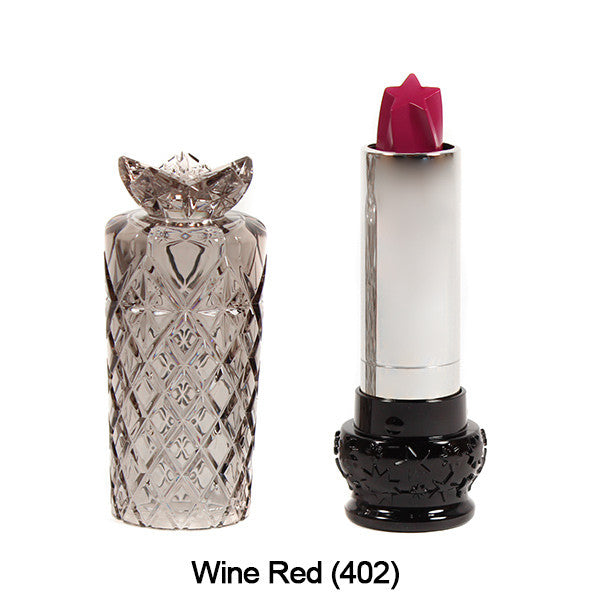 Anna Sui Lipstick  (LIMITED AVAILABILITY) - Wine Red (402) | Camera Ready Cosmetics - 8