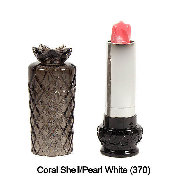 Anna Sui Lipstick  (LIMITED AVAILABILITY) - Coral Shell/Pearl White (370) | Camera Ready Cosmetics - 12