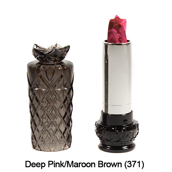 Anna Sui Lipstick  (LIMITED AVAILABILITY) - Deep Pink/Maroon Brown (371) | Camera Ready Cosmetics - 13