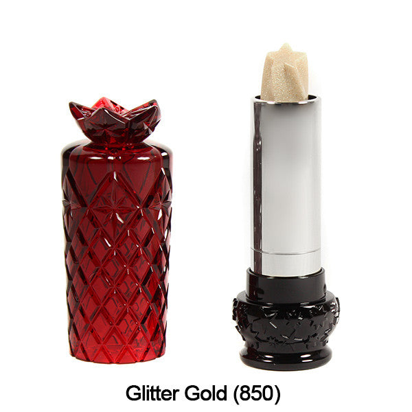 Anna Sui Lipstick  (LIMITED AVAILABILITY) - Glitter Gold (850) | Camera Ready Cosmetics - 21