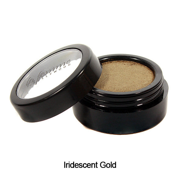 La Femme Cake Eye liner - Iridescent Gold | Camera Ready Cosmetics - 14