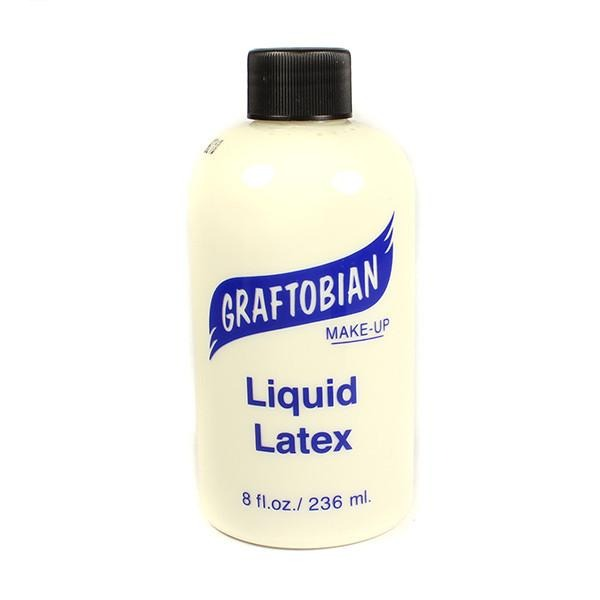 Graftobian Liquid Latex - Blue / 8 oz. | Camera Ready Cosmetics - 4