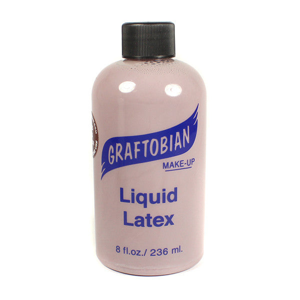 Graftobian Liquid Latex - Dark Brown / 8 oz. | Camera Ready Cosmetics - 9