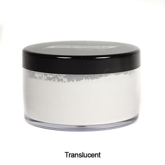 alt Graftobian Pro Setting Powder .7 oz. Container / Translucent