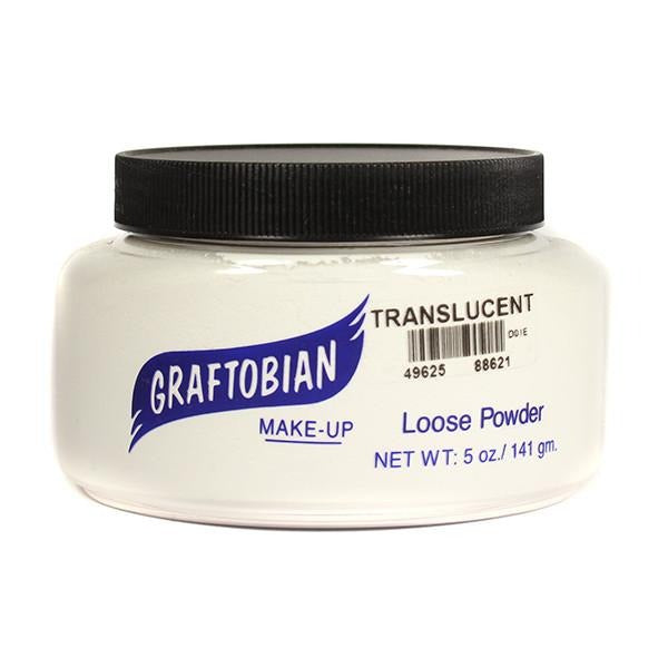 alt Graftobian Pro Setting Powder 5 oz. Jumbo Bulk Tub / Translucent