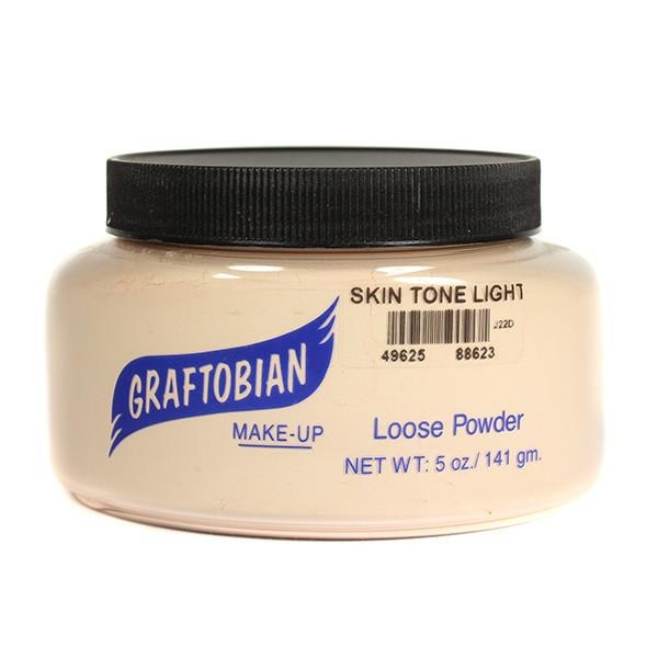 alt Graftobian Pro Setting Powder 5 oz. Jumbo Bulk Tub / Skin Tone Light