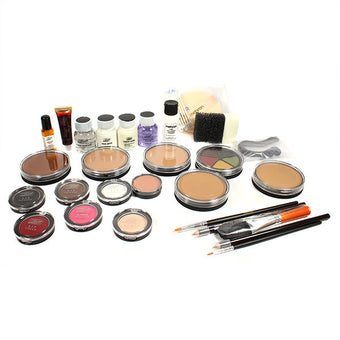 Mehron All-Pro Makeup Kit (USA Only) - Cake - Dark Complexion (K110-D) | Camera Ready Cosmetics - 2