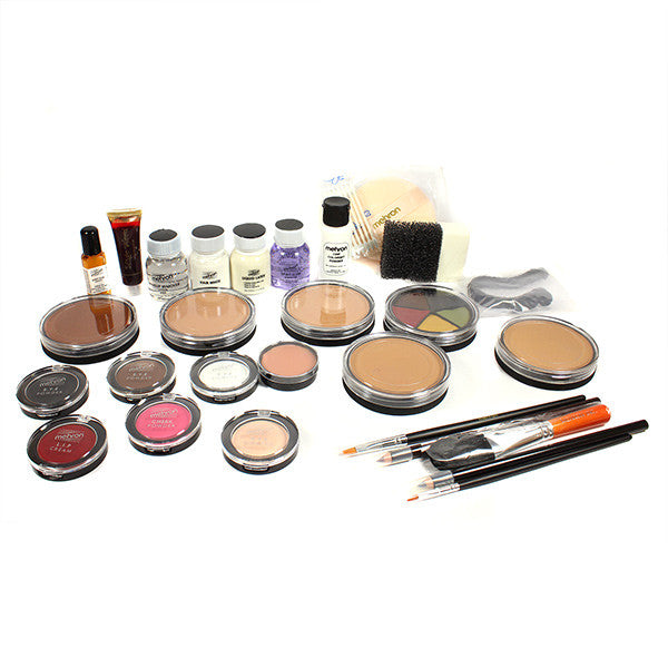 alt Mehron All-Pro Makeup Kit Cake - Dark Complexion (K110-D)