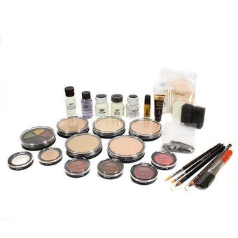 Mehron All-Pro Makeup Kit (USA Only) - Cake - Fair (K110-F) | Camera Ready Cosmetics - 3