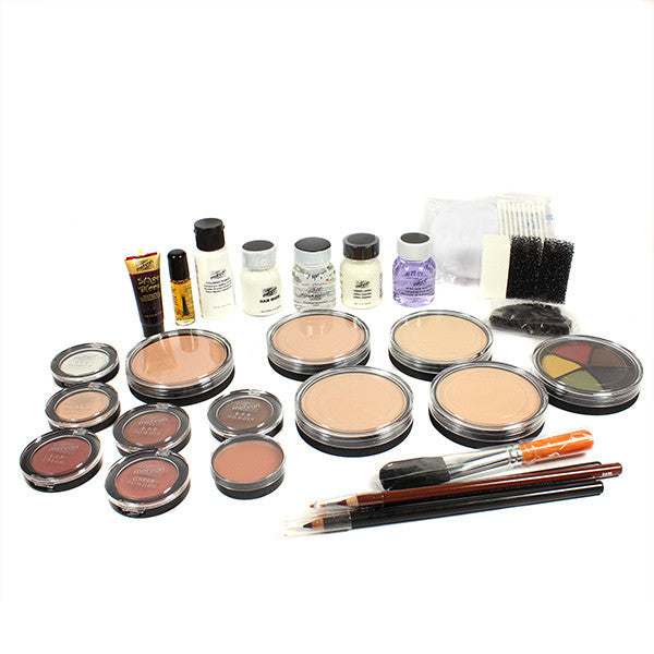 Mehron All-Pro Makeup Kit (USA Only) - Cake - Medium (K110-M) | Camera Ready Cosmetics - 4