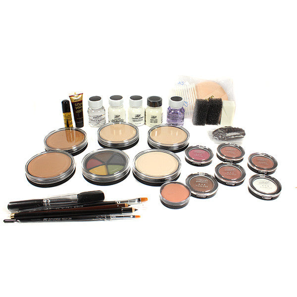 Mehron All-Pro Makeup Kit (USA Only) - Cake - Olive (K110-OL) | Camera Ready Cosmetics - 5
