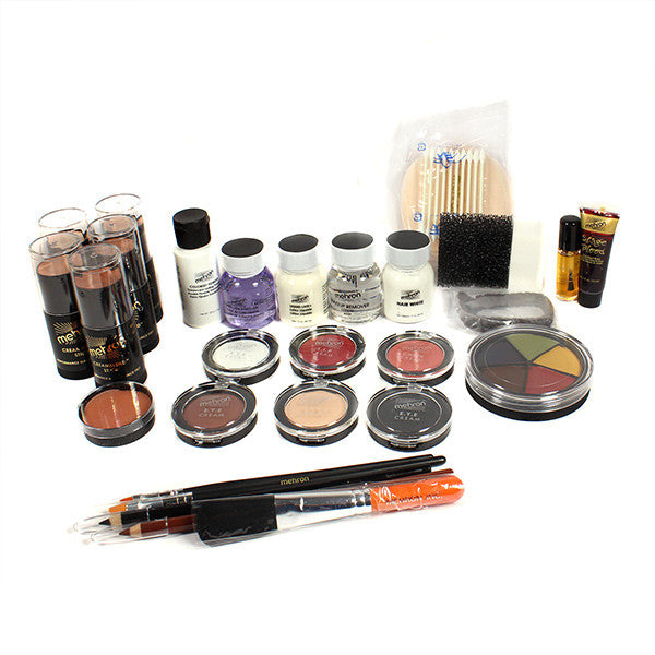 Mehron All-Pro Makeup Kit (USA Only) - Stick - Dark (400-D) | Camera Ready Cosmetics - 7