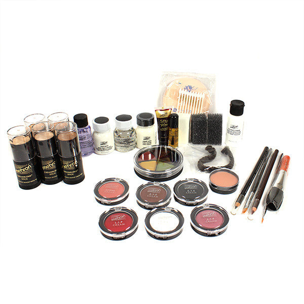 Mehron All-Pro Makeup Kit (USA Only) - Stick - Olive (400-OL) | Camera Ready Cosmetics - 10