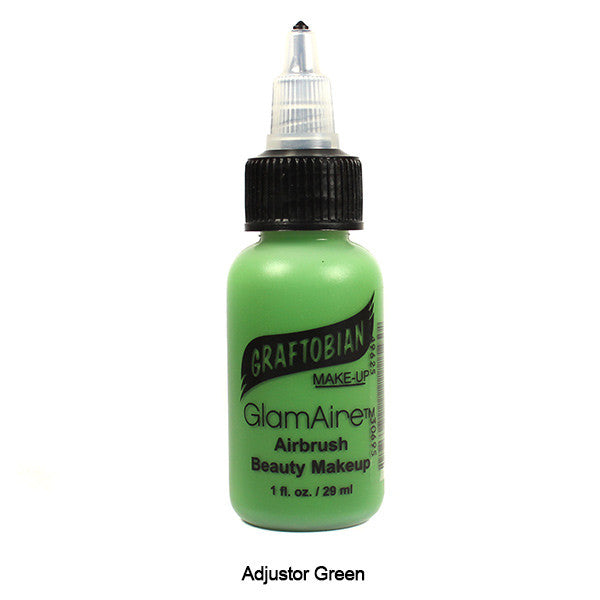 Graftobian GlamAire Foundation AIRBRUSH - Adjustor Green (30695) | Camera Ready Cosmetics - 6