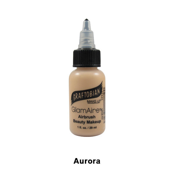 Graftobian GlamAire Foundation AIRBRUSH - Aurora (30630) | Camera Ready Cosmetics - 11