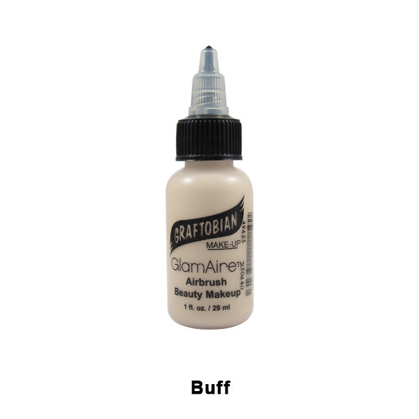 Graftobian GlamAire Foundation AIRBRUSH - Buff (30640) | Camera Ready Cosmetics - 16