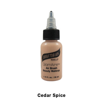Graftobian GlamAire Foundation AIRBRUSH - Cedar Spice (30685) | Camera Ready Cosmetics - 23