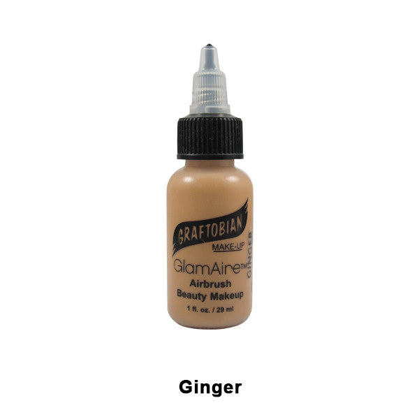 Graftobian GlamAire Foundation AIRBRUSH - Ginger (30660) | Camera Ready Cosmetics - 34