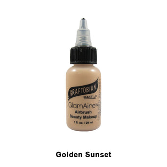 Graftobian GlamAire Foundation AIRBRUSH - Golden Sunset (30652) | Camera Ready Cosmetics - 36