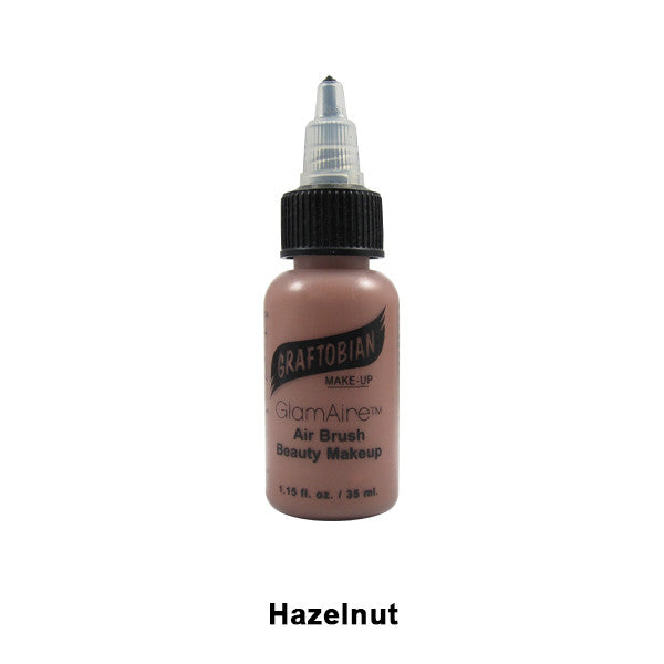 Graftobian GlamAire Foundation AIRBRUSH - Hazelnut (30666) | Camera Ready Cosmetics - 38