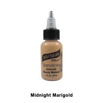 Graftobian GlamAire Foundation AIRBRUSH - Midnight Marigold (30654) | Camera Ready Cosmetics - 45