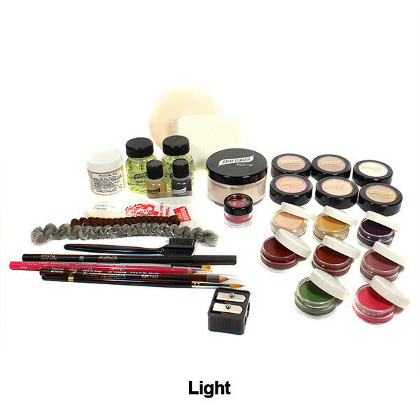 Graftobian Student Theatrical Kit (USA Only) - Light/Fair Deluxe Kit (88811) | Camera Ready Cosmetics - 5