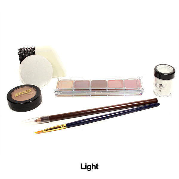 Graftobian Student Theatrical Kit (USA Only) - Light/Fair Boxed Kit (88801) | Camera Ready Cosmetics - 4