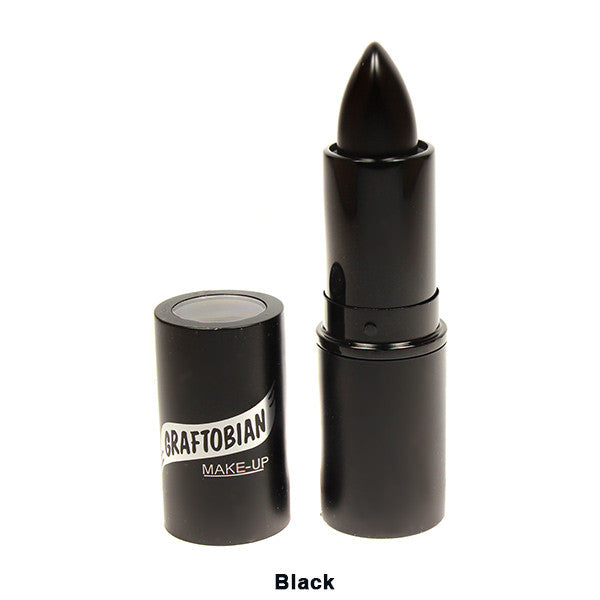 Graftobian Lipstick - Black-88210 | Camera Ready Cosmetics - 3