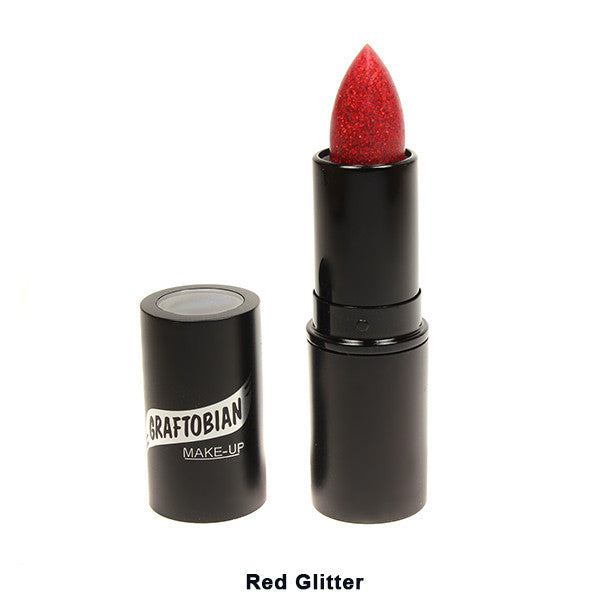 Graftobian Lipstick - Red Glitter-88240 | Camera Ready Cosmetics - 23