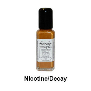 alt Mehron Tooth F-X Special Effects Tooth Paint Nicotine/Decay (tooth sfx)