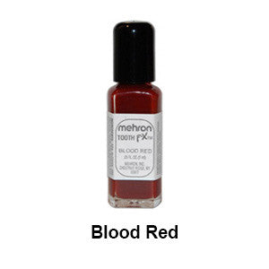 Mehron Tooth F-X Special Effects Tooth Paint (USA Only) - Blood Red | Camera Ready Cosmetics - 3